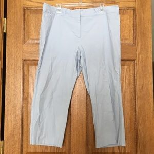 Lane Bryant Light Blue Capris 18